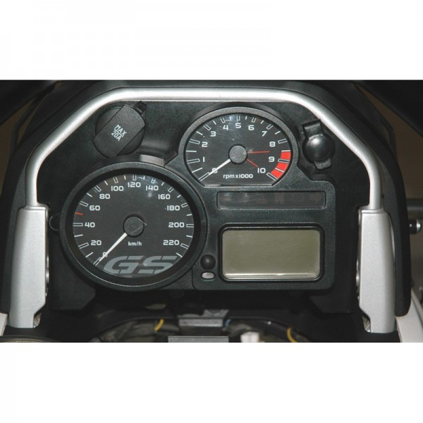 Touratech Cockpit cover 2 *tachometer unit* w small and big socket BMW R1200GS -2012/R1200GSA -2013