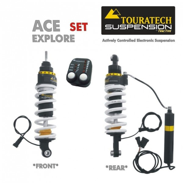 Touratech ACE Suspension Explore SET for BMW R1200GS Adventure (2006-2013)