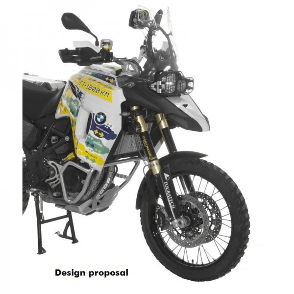 Touratech Large front tank BMW F800GS Adventure
