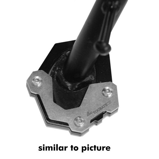 Touratech Side stand base extension for Kawasaki Versys 650 (from 2015)