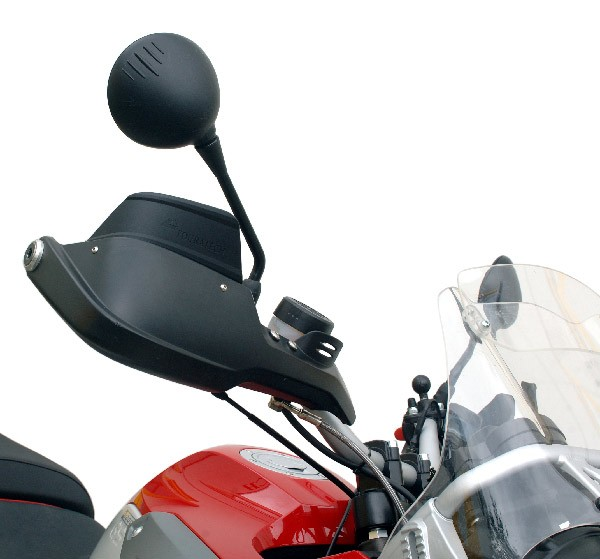 Touratech  Spoiler for original hand protectors BMW R1150GS/R1150GSA/R1200GS up to 2007, black