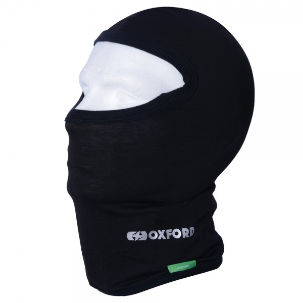 Oxford Cotton Balaclava - BLACK