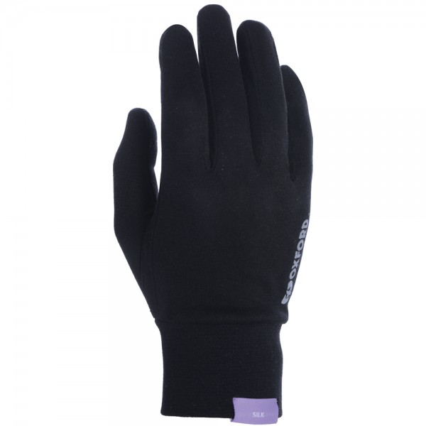 Oxford Silk Gloves BLACK