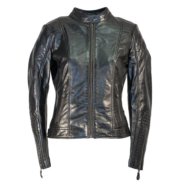 RICHA Lausanne Ladies Leather Jacket - Black