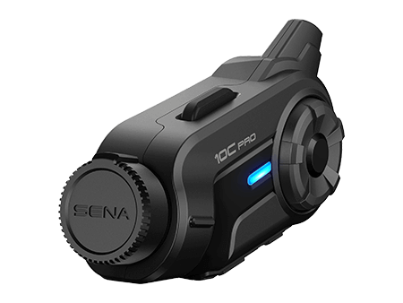 SENA 10C PRO Premium communication and Quad HD quality images