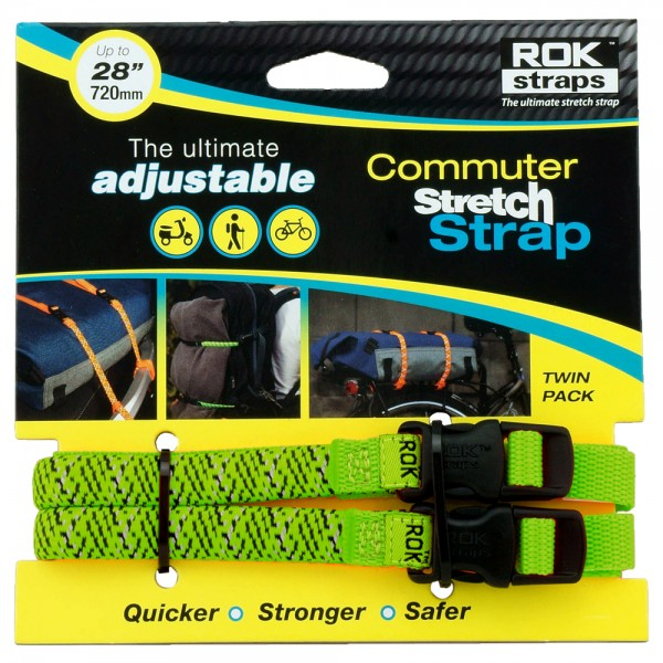 Motorcycle Adjustable Rok Strap Twin Pack - 12