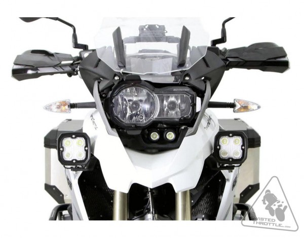DENALI Auxiliary Light Mounting Brackets(ONLY) for BMW R1200GS '13-18 LAH.07.10400