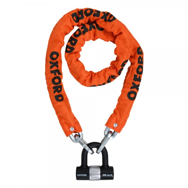 OXFORD HD Chain Lock 1.5m ORANGE