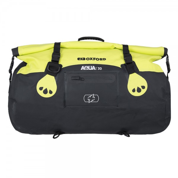 OXFORD Aqua T-30 Roll Bag BLACK/FLUORO