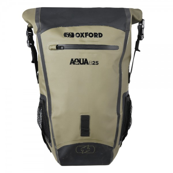 OXFORD Aqua B-25 Backpack KHAKI/BLACK