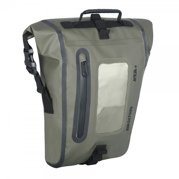 OXFORD Aqua M8 Tank Bag KHAKI/BLACK