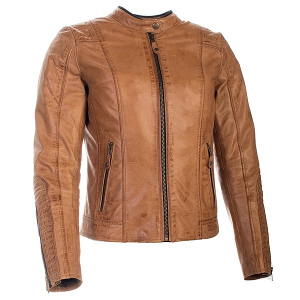 RICHA Lausanne Ladies Leather Jacket - Cognac