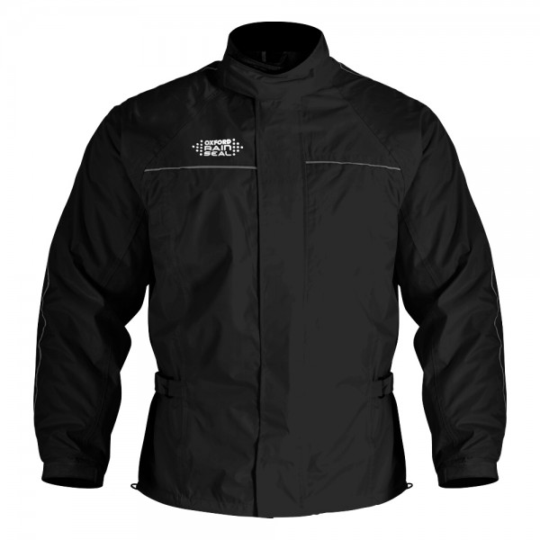 Oxford Rainseal Over Jacket - Black
