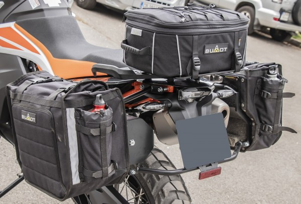 Bumot Xtremada Tail Bag KTM 790 With Luggage Plate