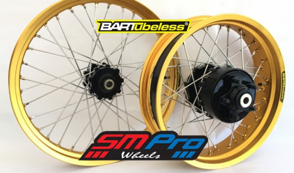 SM Pro Tubeless Wheels for the CRF1000 Africa Twin
