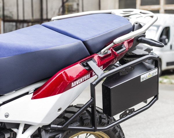 Bumot Pannier Frames and Toolbox Honda CRF1000 Africa Twin 2018 on