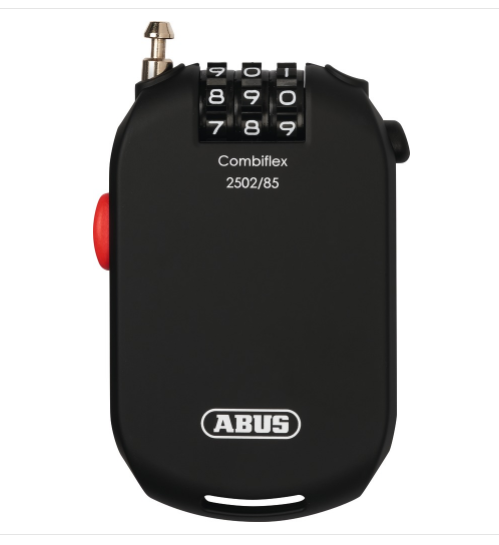 ABUS Combiflex 2502/85 Coil Lock Black 85CM/2.5MM