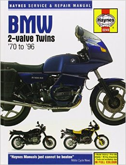 Haynes BMW 2-Valve Twins 70 to 96