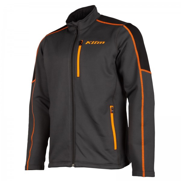 KLIM Inferno Jacket - ASPHALT/STRIKE ORANGE