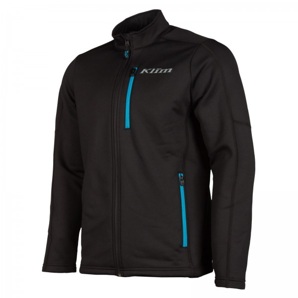 KLIM Inferno Jacket - BLACK/VIVID BLUE