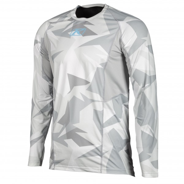 KLIM Aggressor Cool Shirt -1.0 - LIGHT GREY CAMO
