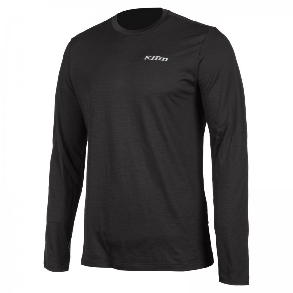 Klim Teton Merino Wool Long Sleeved Shirt BLACK