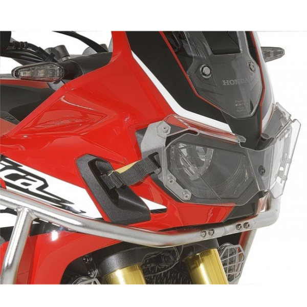 Touratech  Headlight protector Makrolon with quick release fastener for CRF1000L Africa Twin 402-509