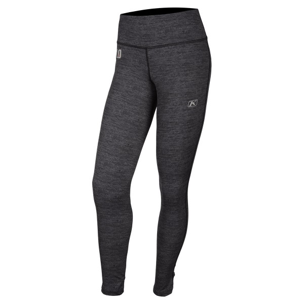 Klim Womens Solstice Pant Base Layers 1.0 - BLACK HEATHER
