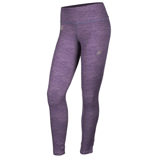 Klim Womens Solstice Pant Base Layers 1.0 - DEEP PURPLE HEATHER