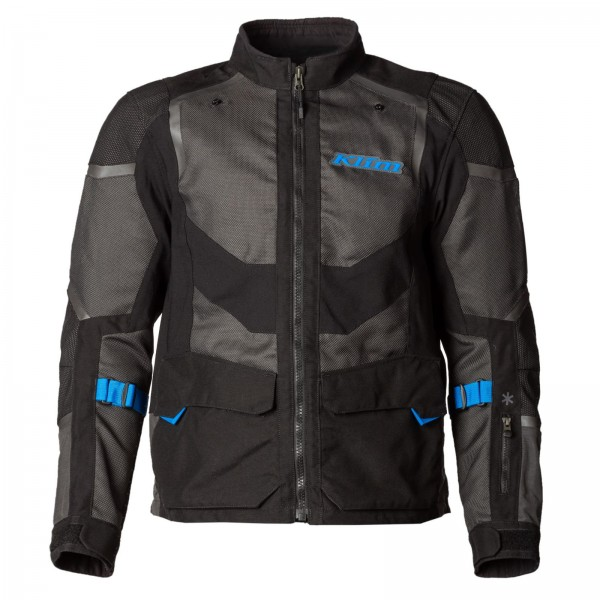 Klim Baja S4 Jacket - BLACK/KINETIC BLUE