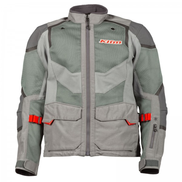 Klim Baja S4 Jacket - COOL GRAY/REDROCK