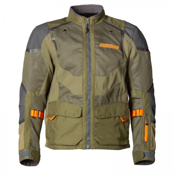 Klim Baja S4 Jacket - SAGE/STRIKE ORANGE