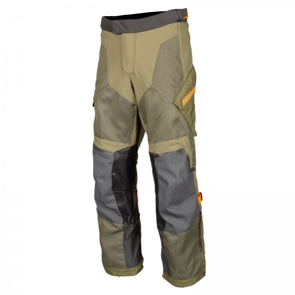 Klim Baja S4 Pant - SAGE/STRIKE ORANGE