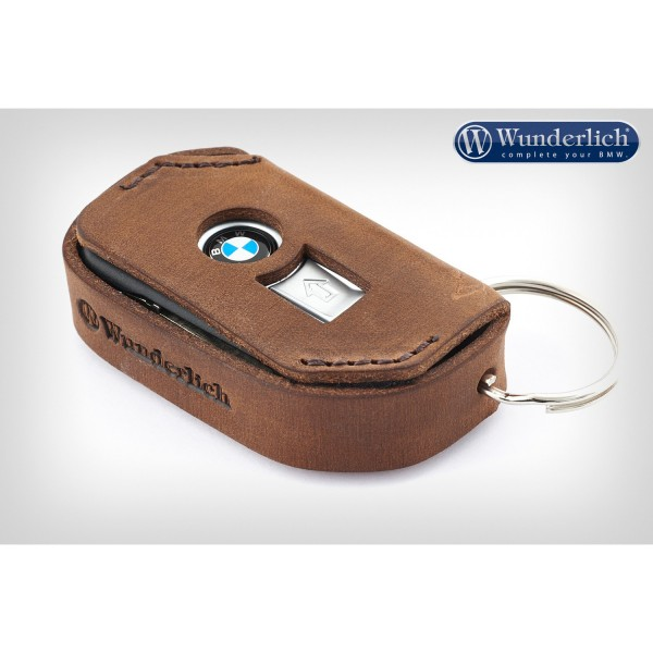 Wunderlich key pouch leather - BMW Keyless Ride