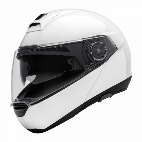 Schuberth C4 Helmet - Gloss White