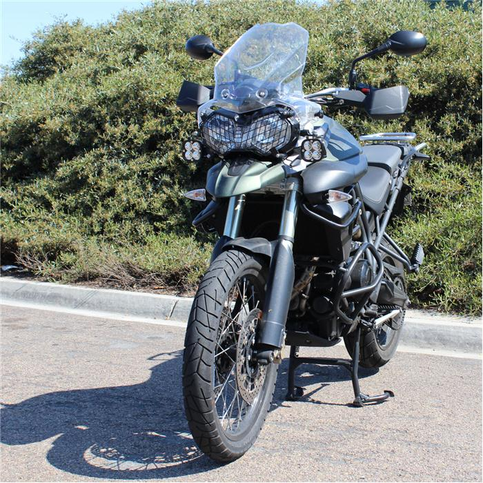 Baja Designs  Squadron Pro, Triumph Tiger 800XC LED Adventure Bike Kit