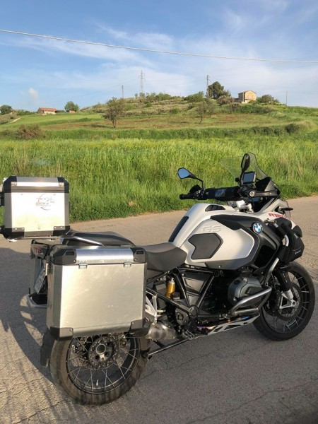 Bumot Defender EVO Panniers & Top Box BMW F850GSA 2018 on/R1200/1250GSA-LC 2014 on Using BMW mounts
