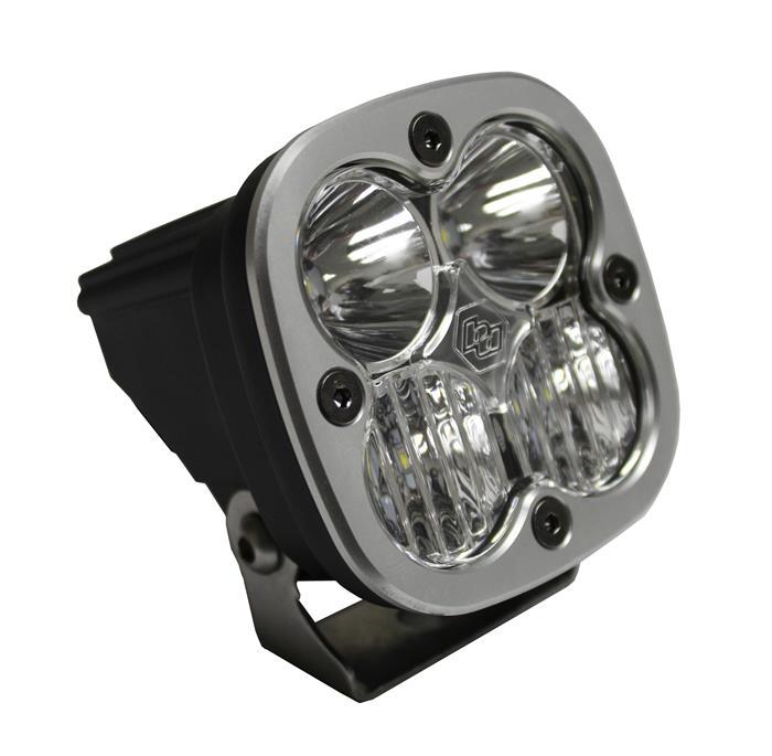 Baja Designs Squadron Sport LED Pair Work//Scene Light Kit /& Rock Guards Black
