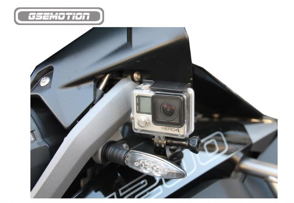GSEmotion ~ Go Pro Bracket for Front Indicator R1200GS & GSA-LC