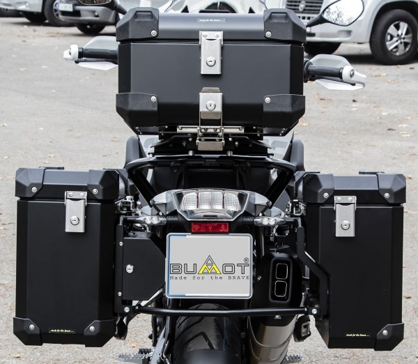 Bumot Defender EVO Pannier System BMW R1200 & R1250GS Water 2013 on - R1200GSA-LC 2014 on