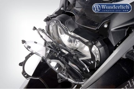 Wunderlich clear headlight grill (folding) - R1200 & R1250GS-LC & Adventure 2014 on WUN-26660-200
