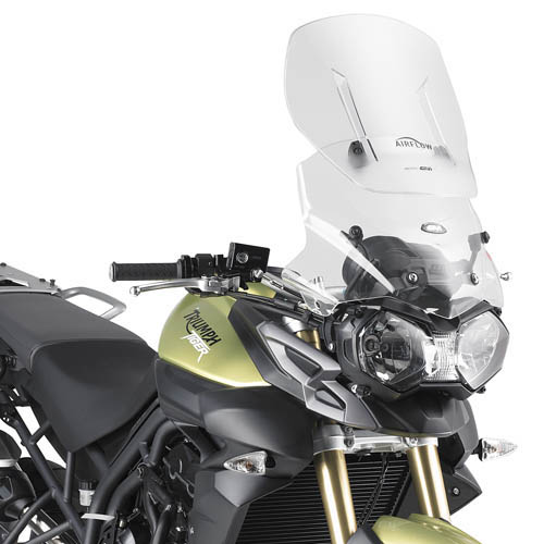 Givi AF6401 Specific Airflow Screen for Triumph Tiger 800 / 800XR / 800XC