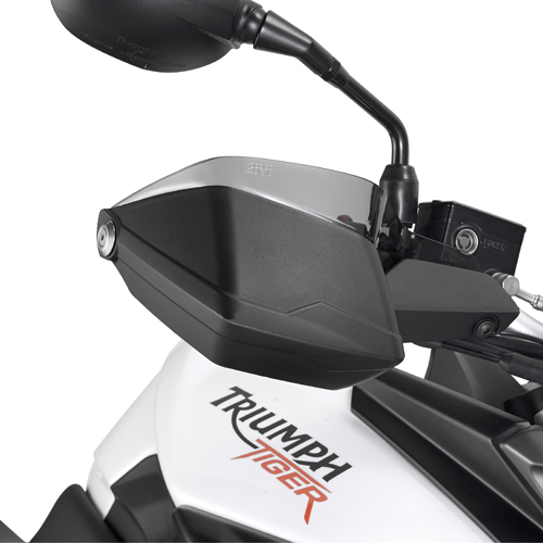 Givi EH6401 hand guard extenders (tint) - Triumph Tiger 800/800XC (11-14)