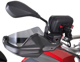 Givi EH5108 hand guard extenders (tint) - R1200GS LC, R1200 Adventure LC