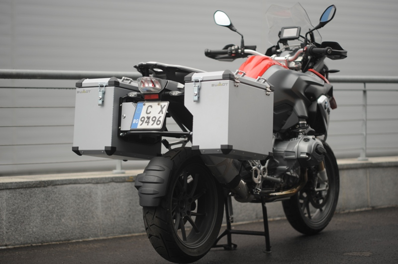 Bumot Defender Pannier System BMW R1200 & R1250GS Water 2013 on - R1200GSA-LC 2014 on