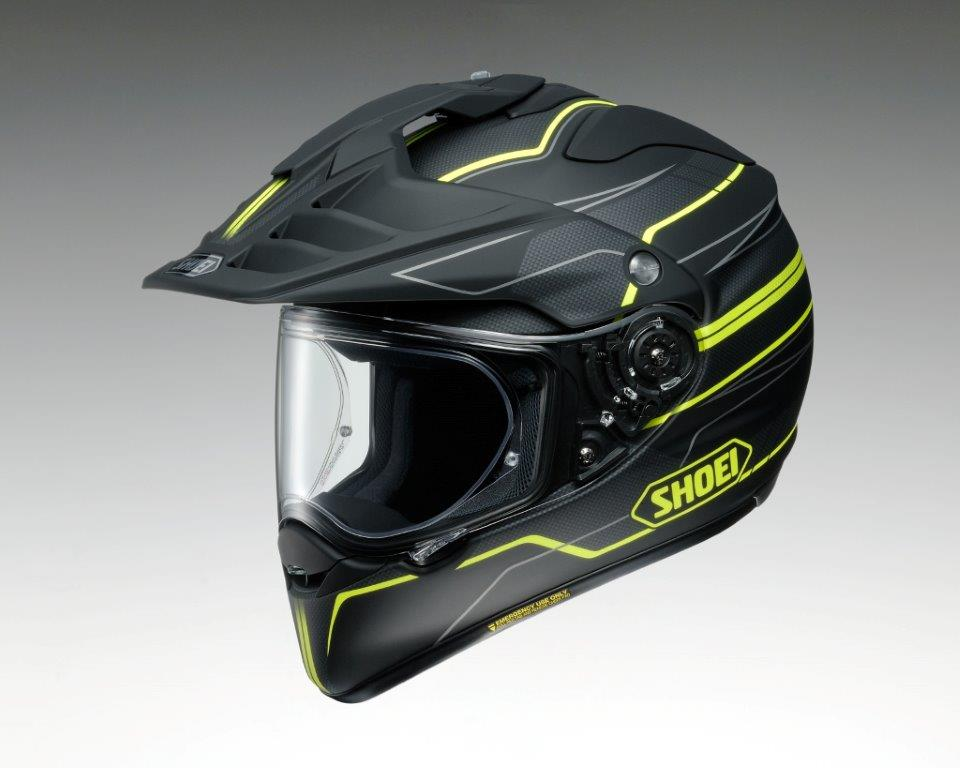 SHOEI Hornet ADV Navigate Helmet Black/Yellow
