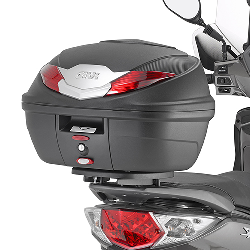 GIVI B360N 36 ltr MONOLOCK® top case black with red reflectors