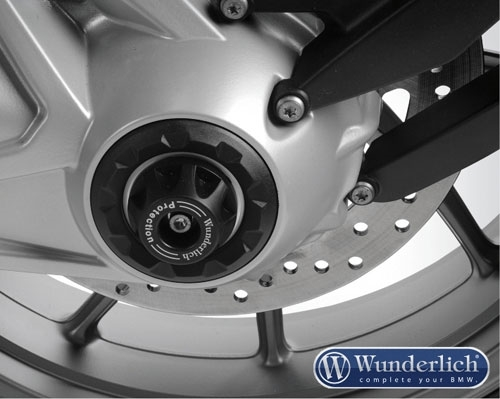 WunderlichTornado Protector Hub Cover (silver) - R1200GS LC/Adv LC/RT LC