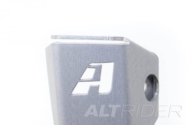 AltRider Rear Brake Reservoir Guard for the Husqvarna TR650 Terra and Strada Silver