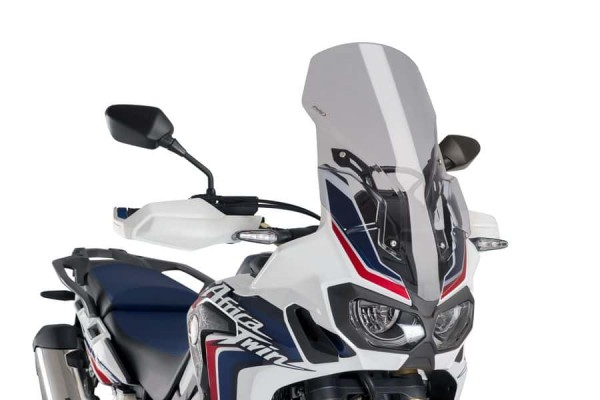Africa Twin CRF1000L Touring Screen Light Smoke